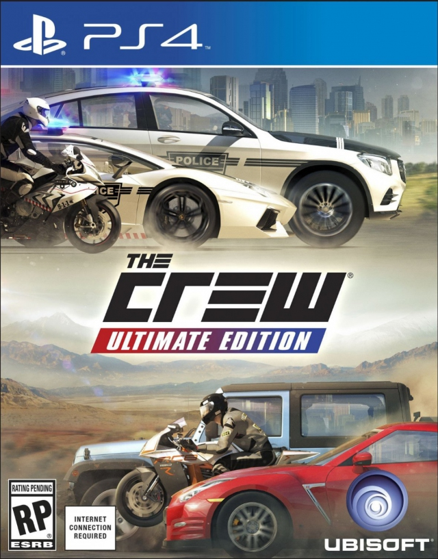 the crew ultimate edition ps4 playstation 4 games. Black Bedroom Furniture Sets. Home Design Ideas