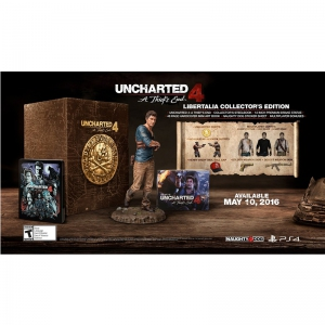 Uncharted 4: A Thief's End (Collector's Edition) (PS4)