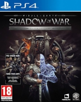 [Pre-order] Middle-earth: Shadow of War Silver Edition (PS4)