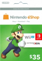 Nintendo USD 35 eShop Prepaid Card (Digital)