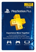 PSN Plus USA 12 Months PlayStation Plus Membership (Digital)