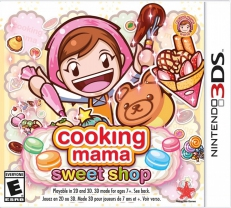 Cooking Mama: Sweet Shop (3DS)
