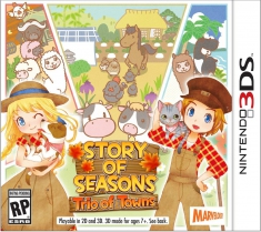 [Pre-order] Story of Seasons: Trio of Towns (3DS)
