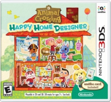Animal Crossing: Happy Home Designer (Amiibo Card Included) (3DS)