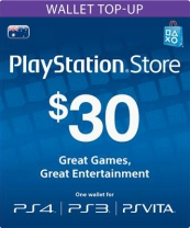 PSN Australia 30 AUD PlayStation Network Card (Digital)