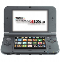 Nintendo New 3DS XL (Metallic Black)