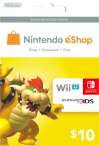 Nintendo USD 10 eShop Prepaid Card (Digital)