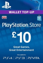 PSN UK 10 GBP PlayStation Network Card (Digital)