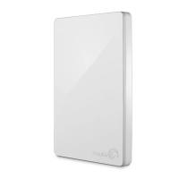 Seagate® Backup Plus Portable Drive - White (1TB)