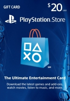 PSN USA 20 USD PlayStation Network Card (Digital)