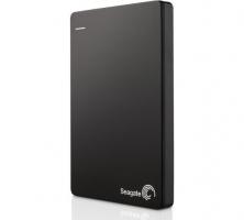Seagate® Backup Plus Portable Drive - Black (2TB)