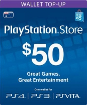 PSN Australia 50 AUD PlayStation Network Card (Digital)