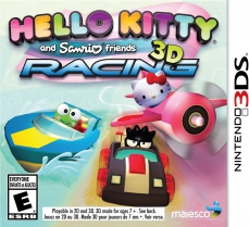 Hello Kitty & Sanrio Friends 3D Racing (3DS)