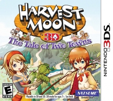 Harvest Moon 3D: The Tales Of Two Towns (3DS)