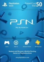 PSN Singapore 50 SGD PlayStation Network Card (Digital)