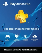 PSN Plus Hong Kong 12 Months PlayStation Plus Membership (Digital)