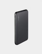 Energea Slimpac 10000mAh Li-Polymer Power Bank, Power Delivery with Smart Fast Charger 3.0 Gunmetal