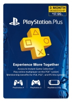 PSN Plus USA 3 Months PlayStation Plus Membership (Digital)