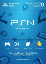 PSN Singapore 20 SGD PlayStation Network Card (Digital)