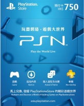 PSN Hong Kong 750 HKD PlayStation Network Card (Digital)