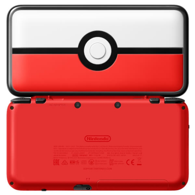 Nintendo new 2ds xl pokeball edition 3ds 2ds for Housse new 2ds xl