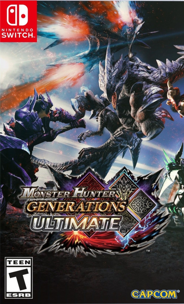 Monster Hunter Generations Ultimate Switch Switch Gt Games Nintendo