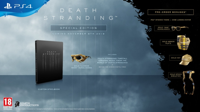 [Pre-order] Death Stranding Special Edition (PS4)