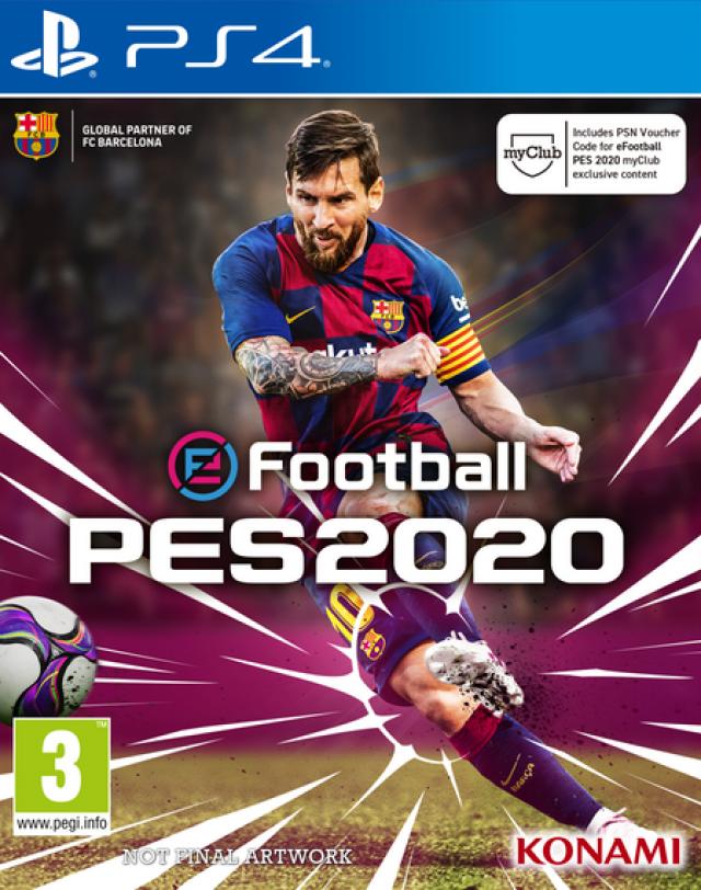 Playstation Games 2020.Pes 2020 Ps4