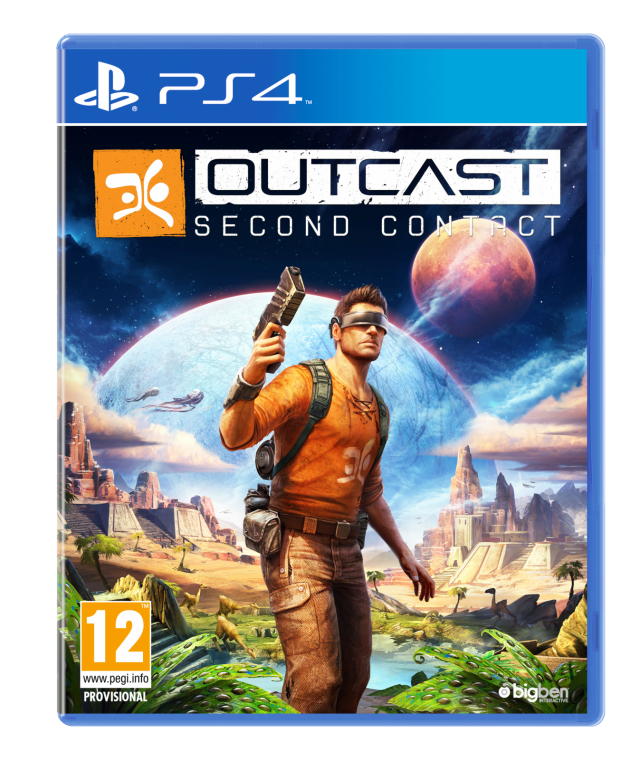 Outcast Second Contact Ps4 Playstation 4 Gt Games