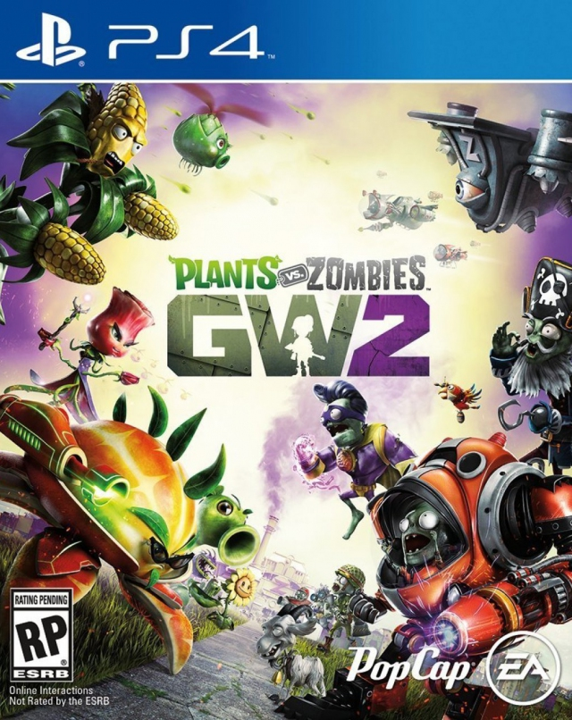 Plants Vs Zombies Garden Warfare 2 Ps4 Playstation 4