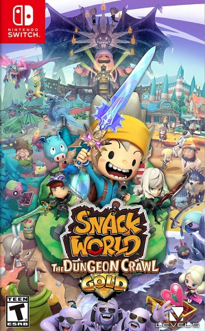 [Pre-order] Snack World: The Dungeon Crawl - Gold (Switch)