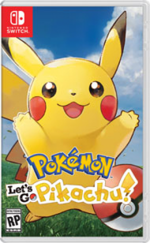 [Pre-order] Pokemon Let's Go Pikachu! (Switch)