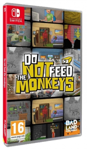 [Pre-order] Do Not Feed the Monkeys (Switch)