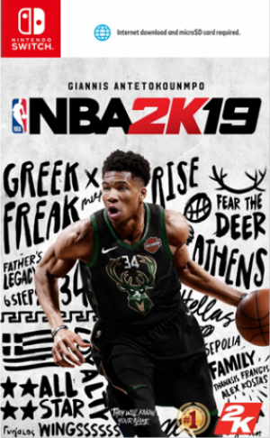 [Pre-order] NBA 2K19 (Switch)