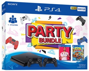 PlayStation 4 Slim 500GB Party Bundle