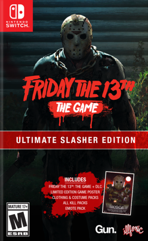 [Pre-order] Friday the 13th the Game Ultimate Slasher Edition (Switch)