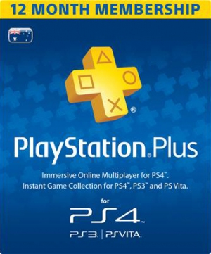 PSN Plus Australia 12 Months PlayStation Plus Membership (Digital)