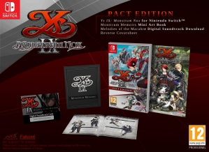[Pre-order] Ys IX: Monstrum Nox Pact Edition (Switch)