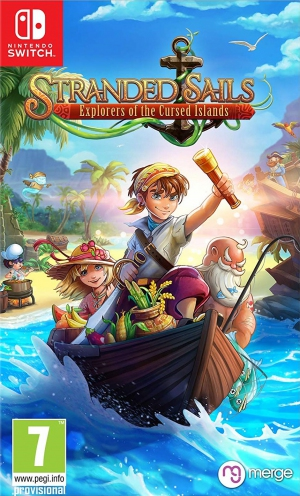 [Pre-order] Stranded Sails Explorers of the Cursed Islands (Switch)