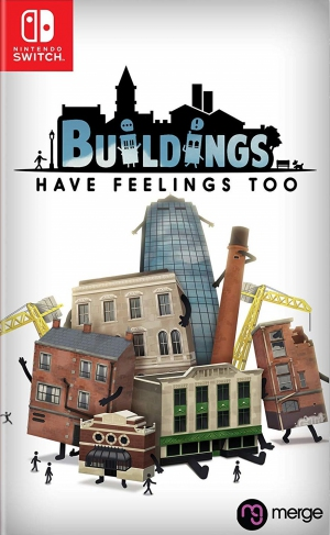 [Pre-order] Buildings have Feelings Too (Switch)