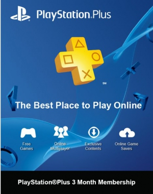PSN Plus Hong Kong 3 Months PlayStation Plus Membership (Digital)