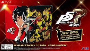 [Pre-order] Persona 5 Royal - Steelbook Launch Edition (PS4)