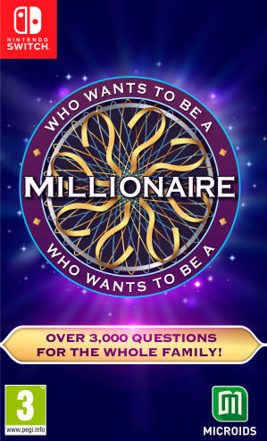 [Pre-order] Who wants to be a Millionaire  (Switch)