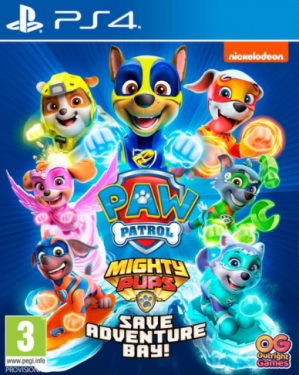 [Pre-order] Paw Patrol Mighty Pups (PS4)