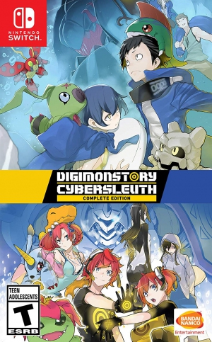 [Pre-order] Digimon Cyber Sleuth: Complete Edition (Switch)
