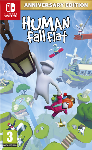 [Pre-order] Human: Fall Flat - Anniversary Edition (Switch)