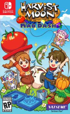 [Pre-order] Harvest Moon: Mad Dash (Switch)