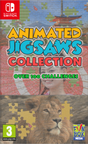 [Pre-order] Animated Jigsaws Collection (Switch)