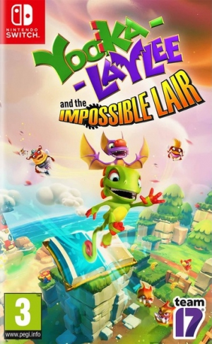 [Pre-order] Yooka Laylee The Impossible Lair (Switch)