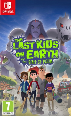[Pre-order] The Last Kids on Earth (Switch)
